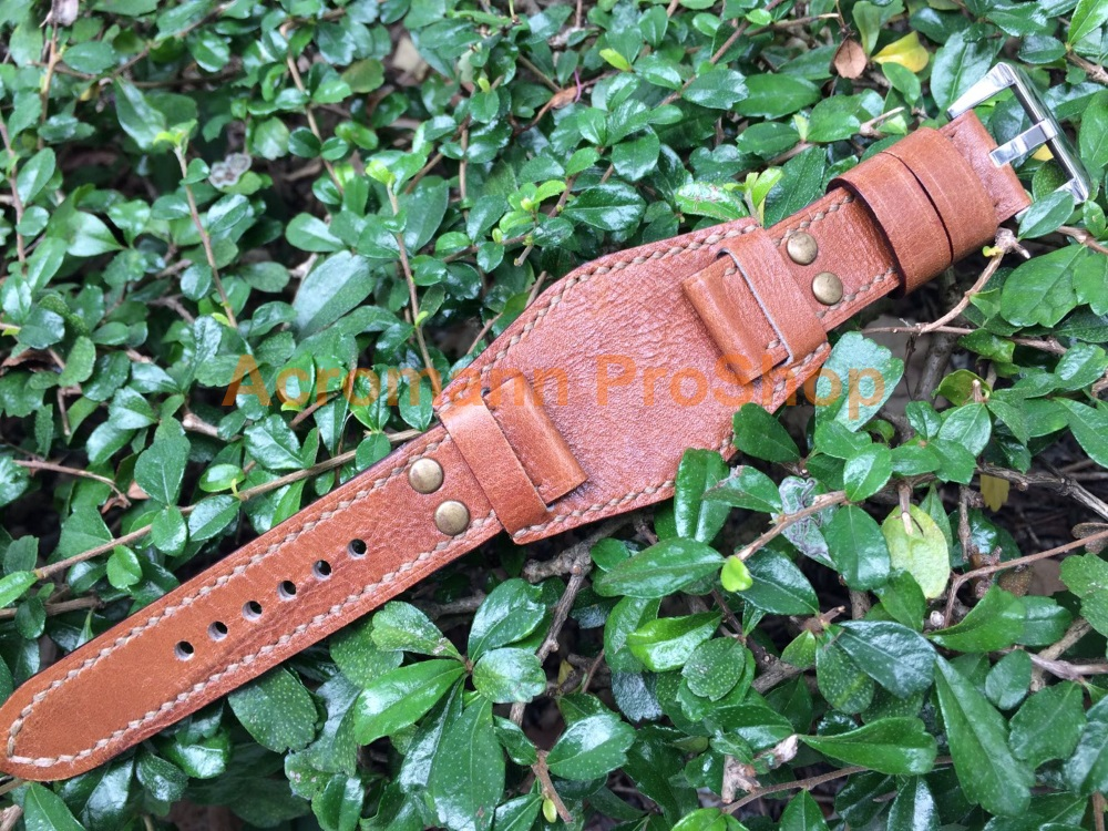 PL01 Handmade Watch Strap (with Bund Pad)