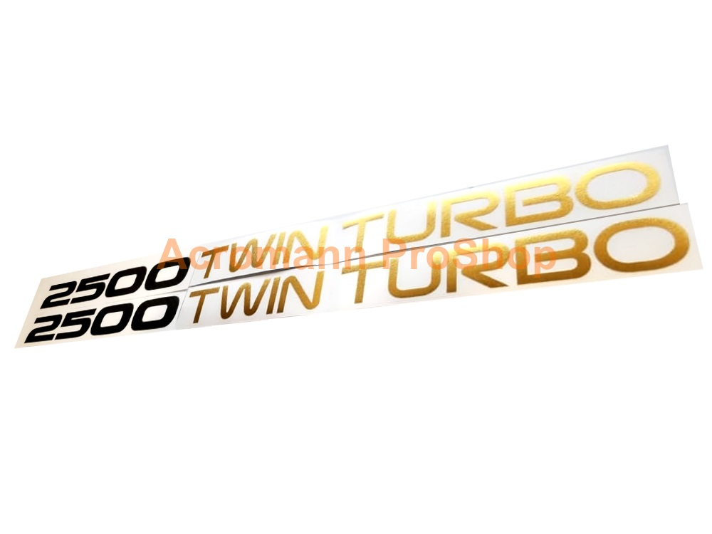 2500 Twin Turbo Toyota Supra JZA70 1JZ GTE 6inch Decal x 2pcs