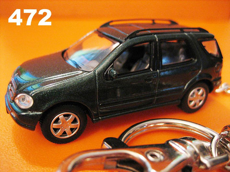 Mercedes-Benz ML (Deep Metallic Green) Die-cast Key Chain