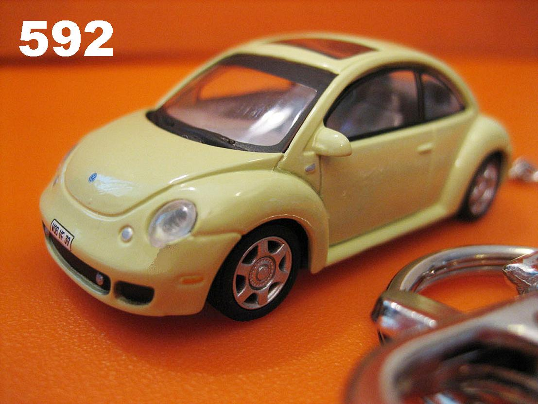 New Beetle Face-lifted (Lime-Yellow/Green) Die-cast Key Chain