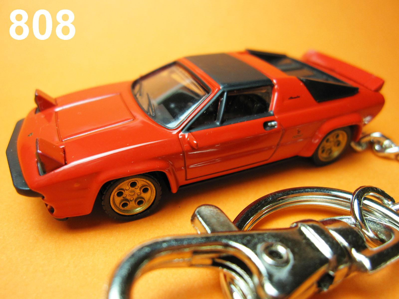 Lamborghini Silhouette (Red) Die-cast Key Chain