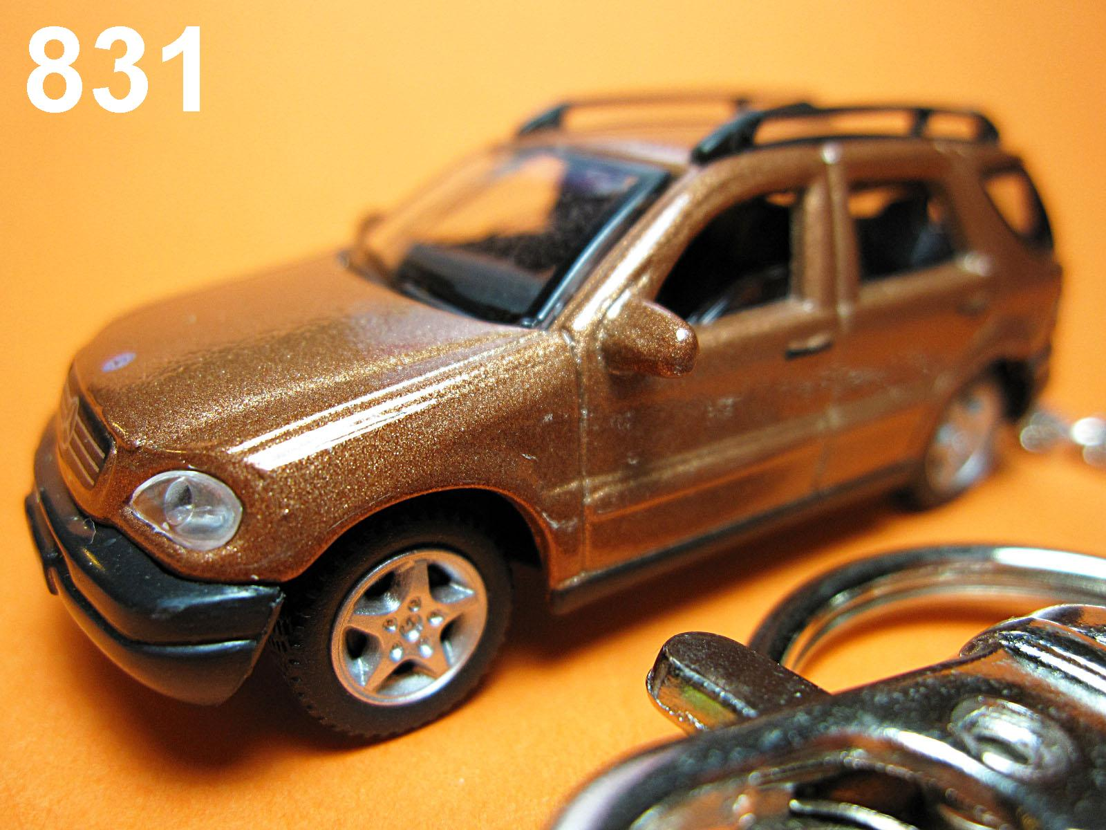Mercedes-Benz ML (Metallic Brown) Die-cast Key Chain