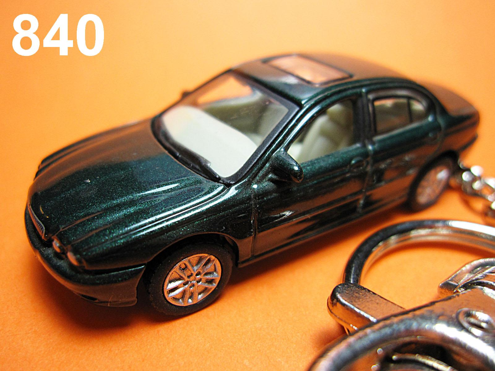 Jaguar X-Type (Deep Metallic Green) Die-cast Key Chain