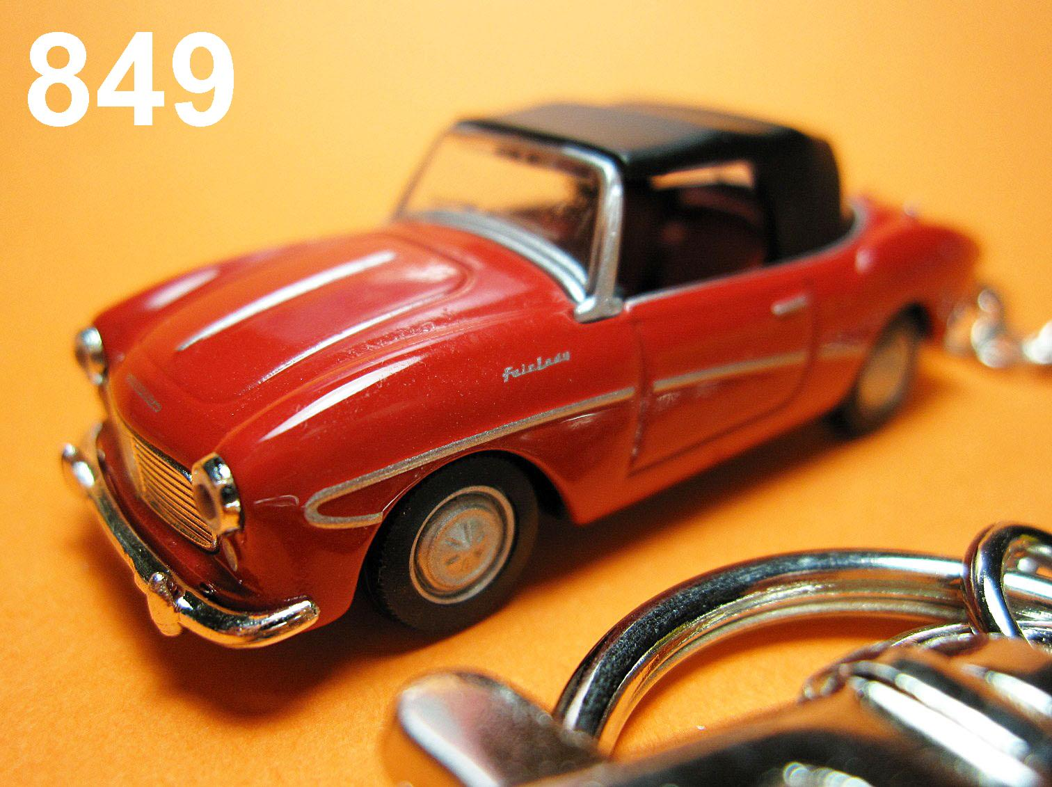Classic Datsun Fairlady 1200 (Red) Die-cast Key Chain
