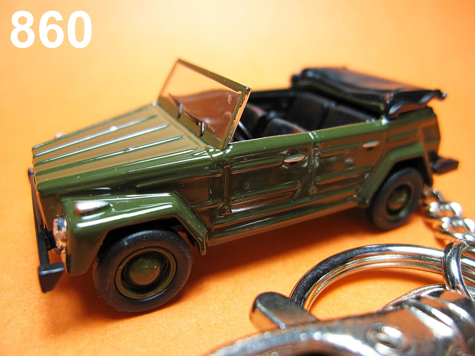 Classic Type 181 (Deep Green) Die-cast Key Chain