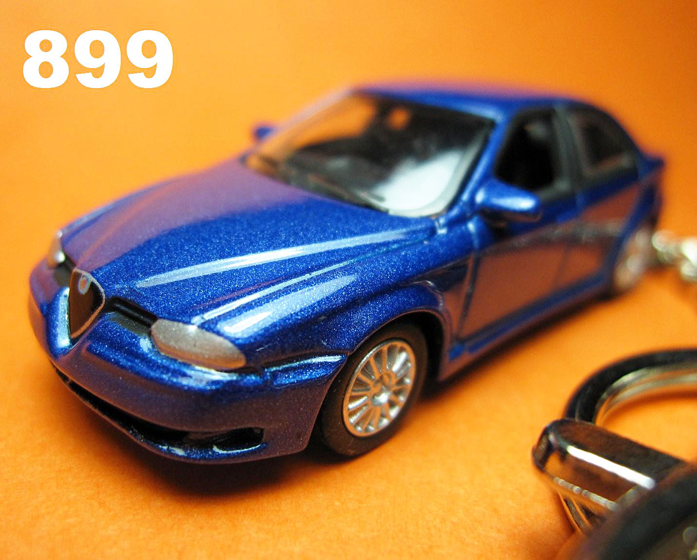 Alfa Romeo 156 GTA (Metallic Blue) Die-cast Key Chain