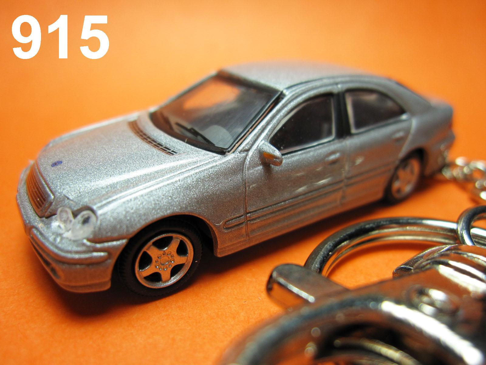 Mercedes-Benz C-Class W203 (Silver) Die-cast Key Chain