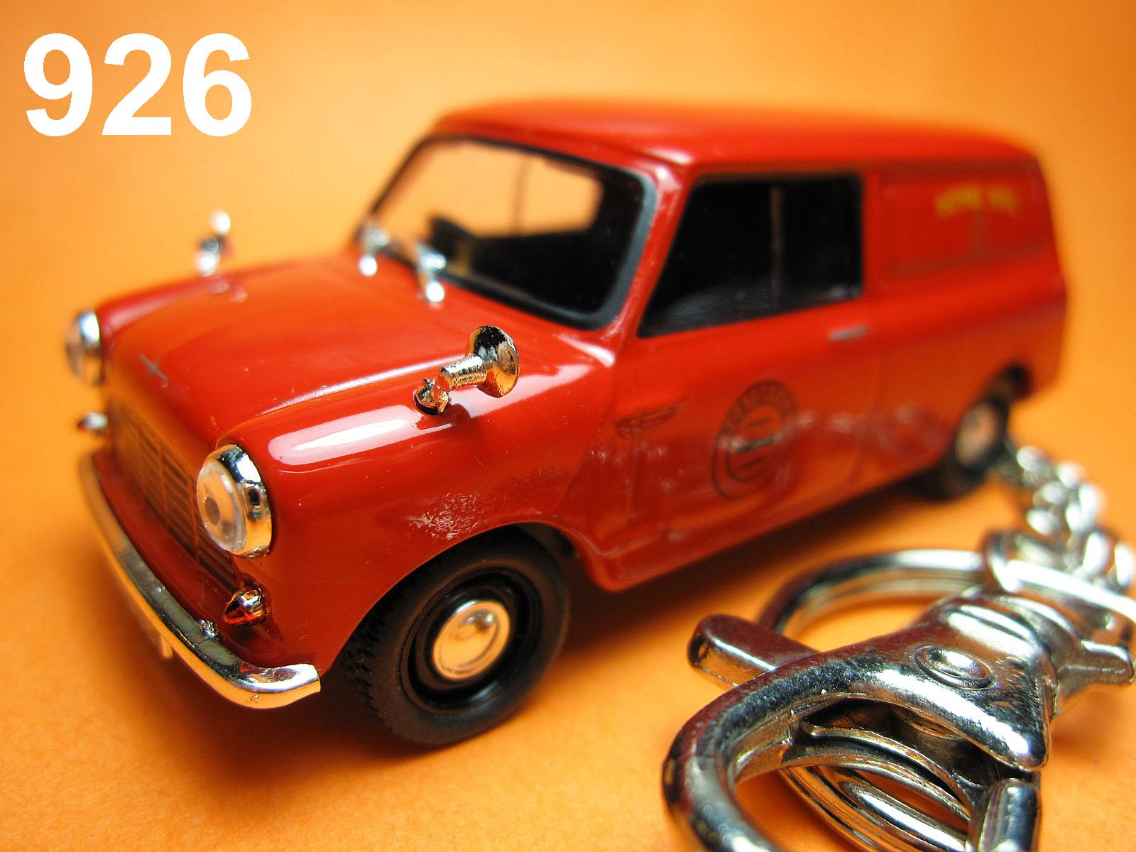 Classic Mini Cooper Clubman (Red) Die-cast Key Chain