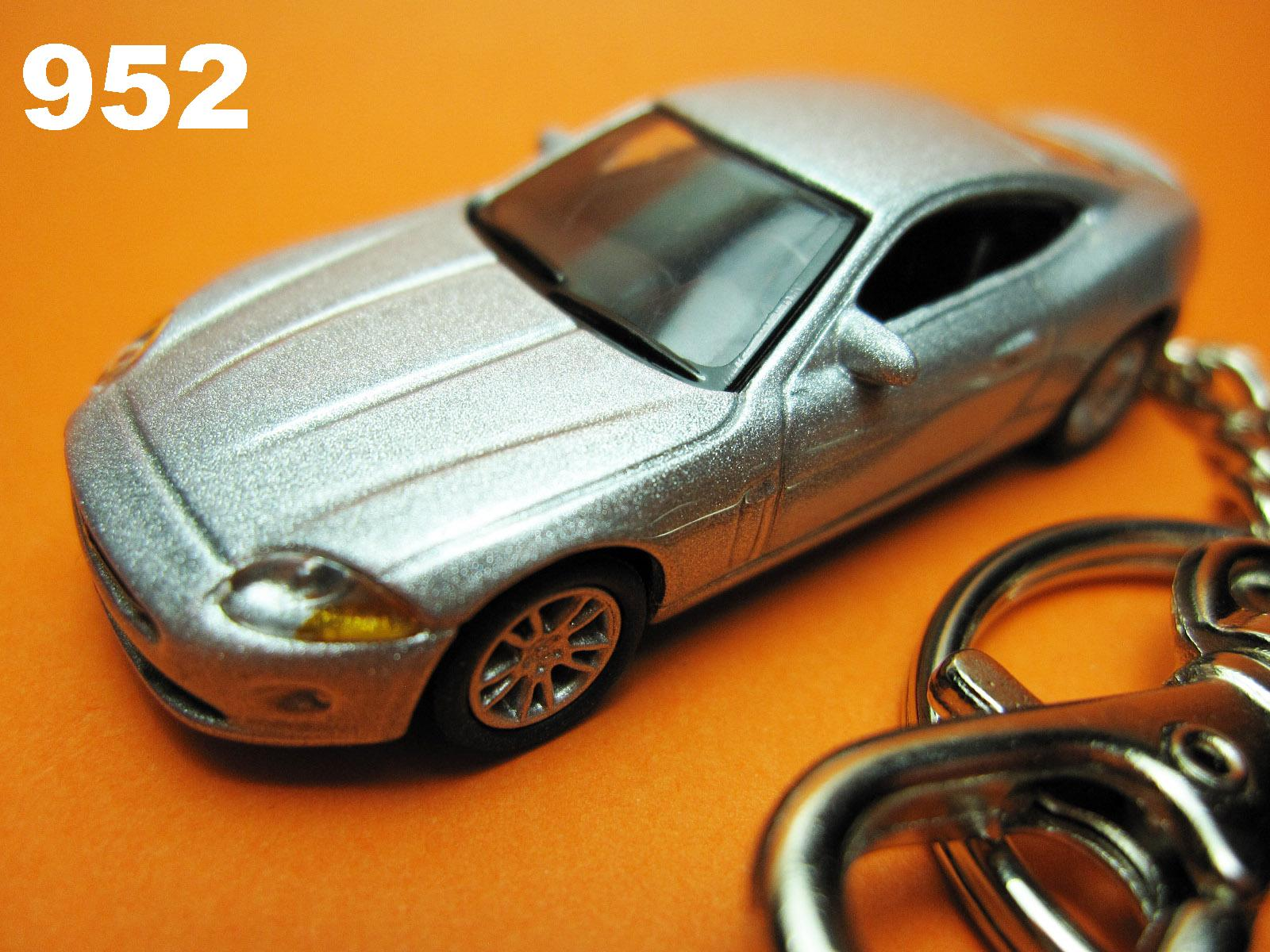 Jaguar XK Coupe (Silver) Die-cast Key Chain