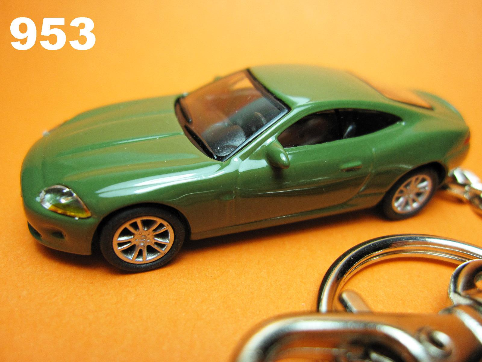 Jaguar XK Coupe (Green) Die-cast Key Chain