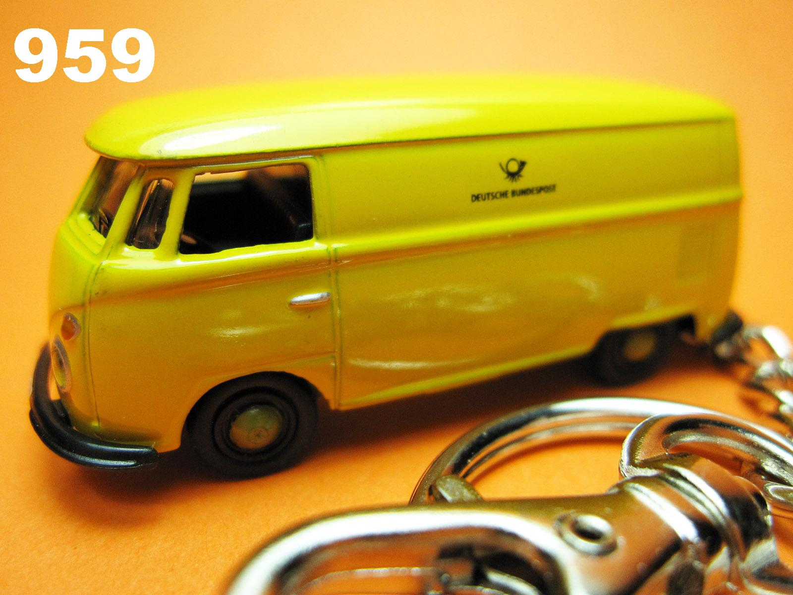 Samba Bus (Yellow) Die-cast Key Chain