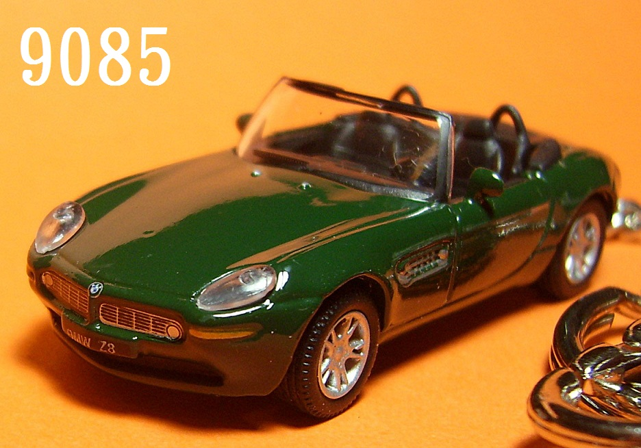 BMW Z8 Roadster (Deep Green) Die-cast Key Chain