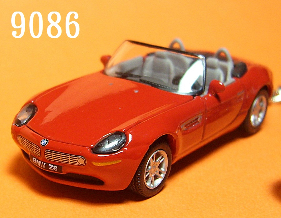 BMW Z8 Roadster (Red) Die-cast Key Chain