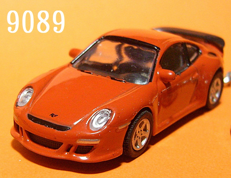 Porsche 911 (997) Ruf Rt12 (Reddish Brown) Die-cast Key Chain