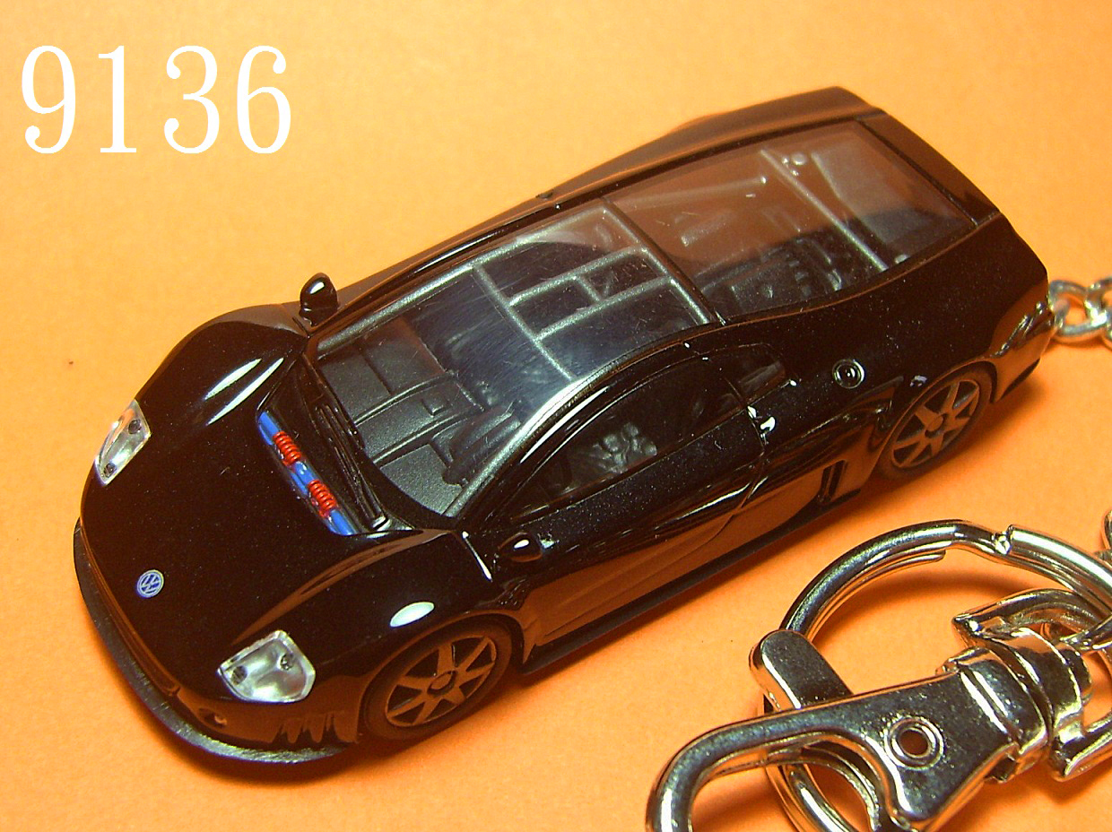 Nardo W12 Coupe (Black) Die-cast Key Chain