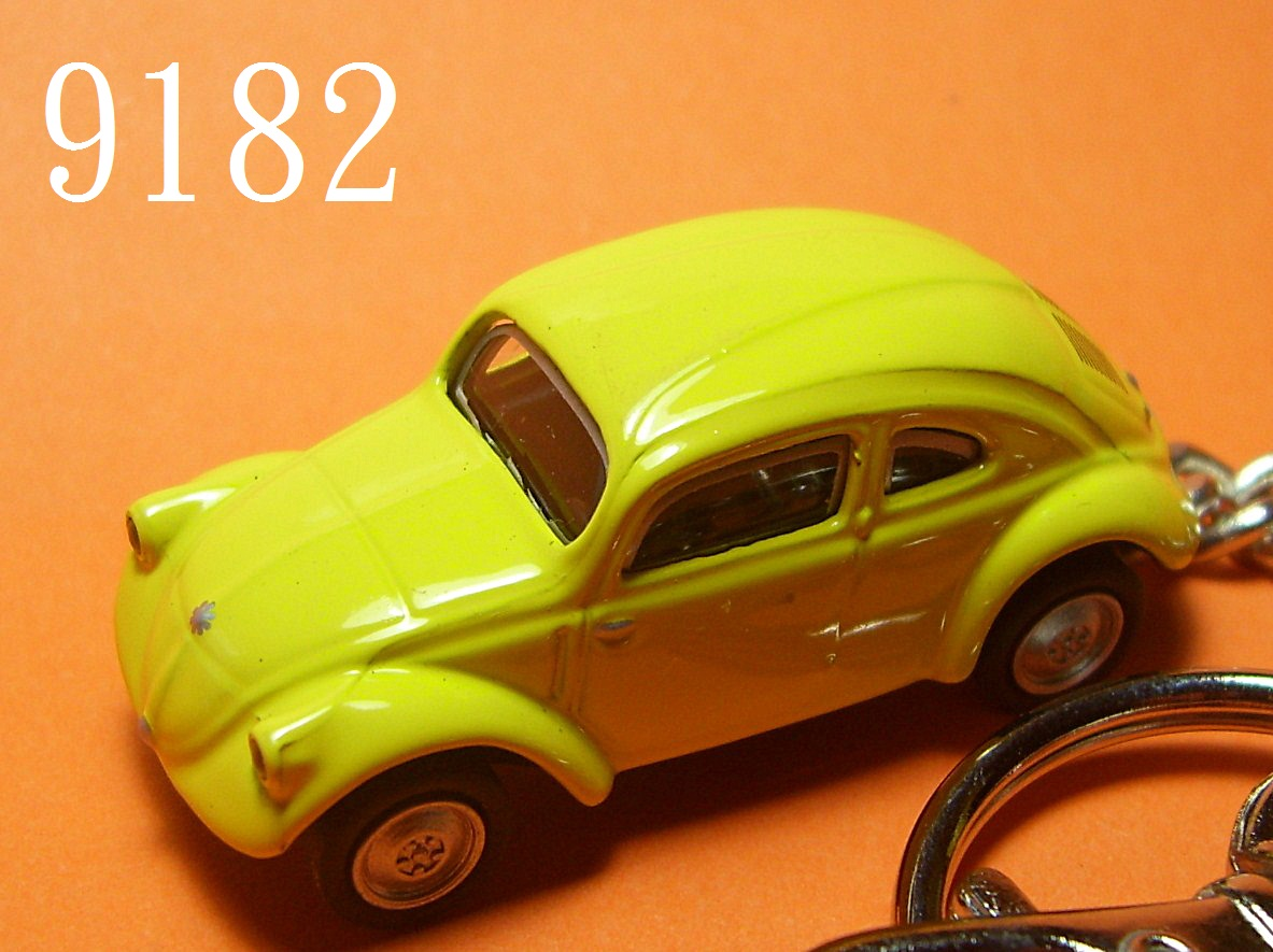 30 Classic Beetle (Yellow) Die-cast Key Chain