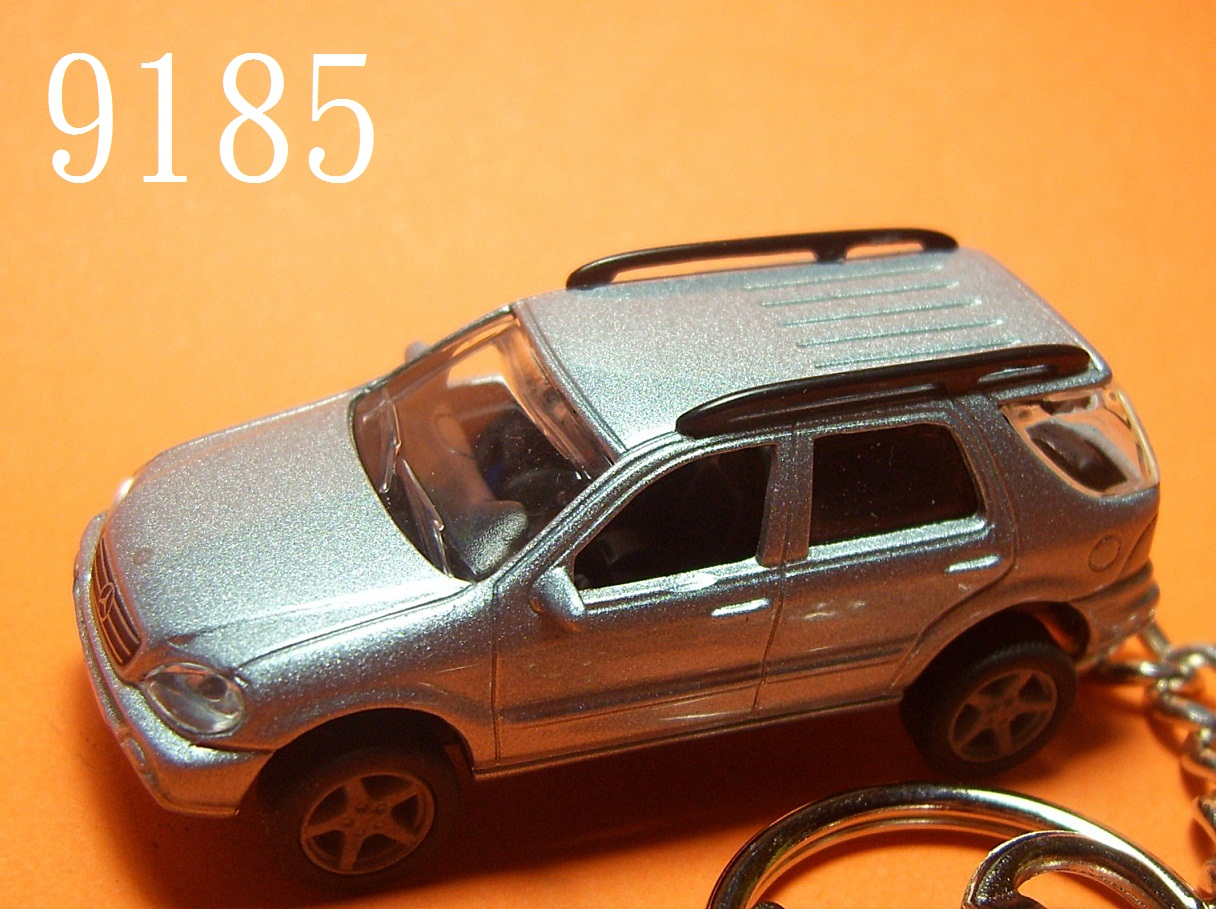 Mercedes-Benz ML (Silver Blue) Die-cast Key Chain