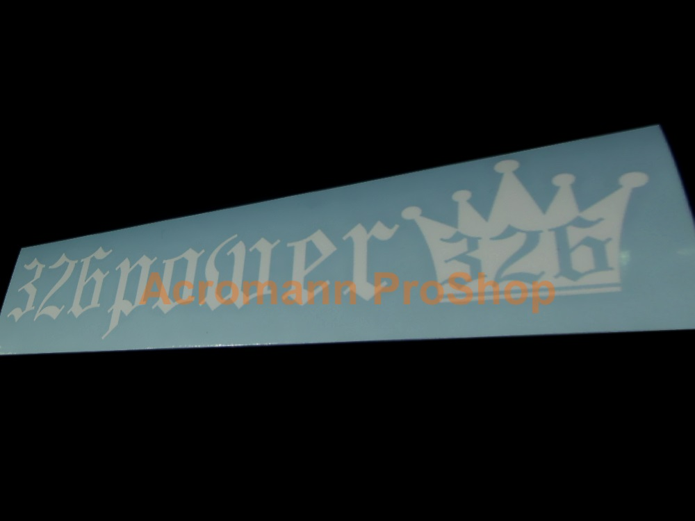 326 POWER Windshield Decal (Style#1)