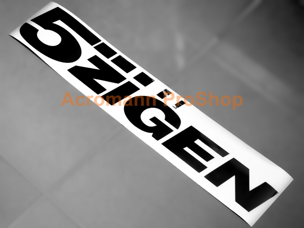 5 ZIGEN Windshield Decal (Style#2)