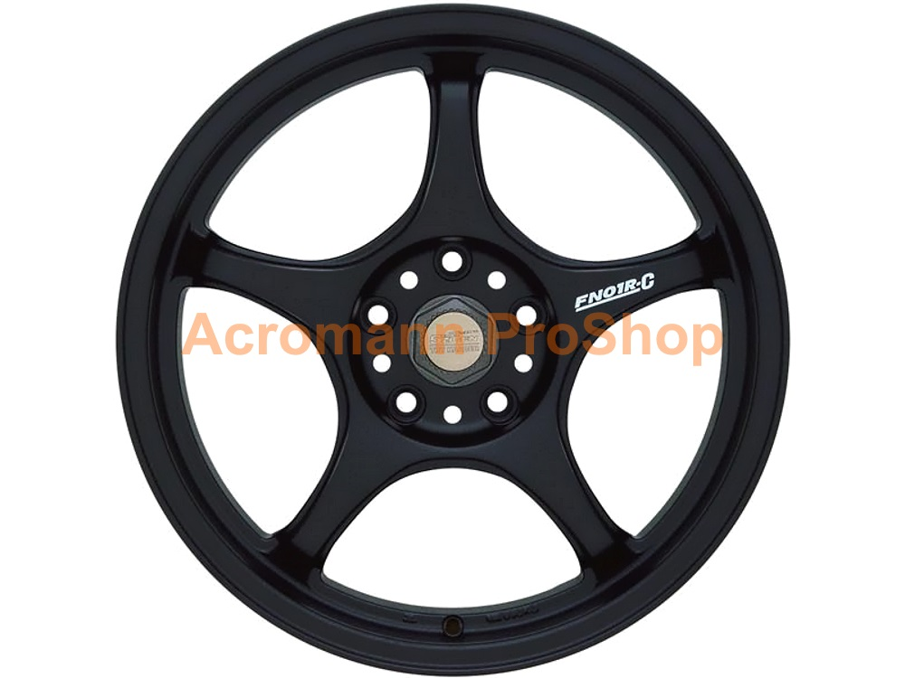 5 Zigen FN01R-C 2 3/8inch Alloy Wheel Decal x 4 pcs