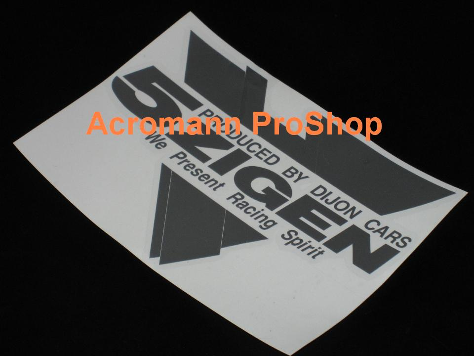 5 Zigen Triangular 6inch Decal (Style#2) x 2 pcs
