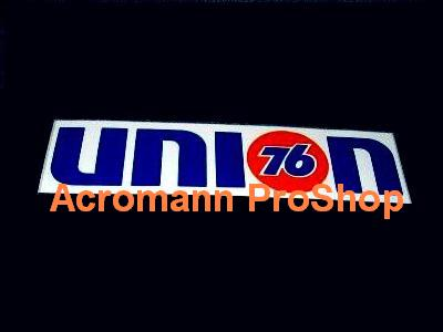 76 Union 6inch Decal x 2 pcs