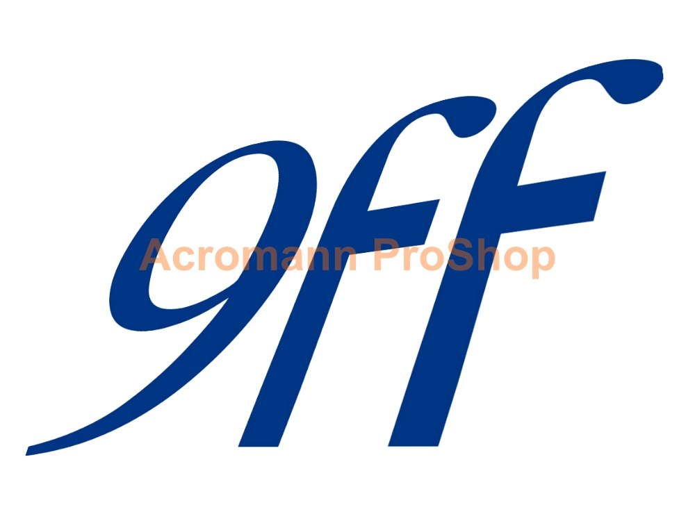 9ff 6inch Decal (Style#1) x 2 pcs