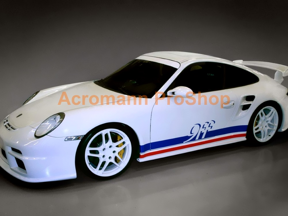 9ff 911 997 Boxster Cayman Side Stripes Door Decals (Style#2)