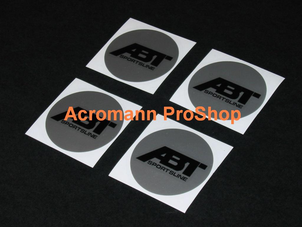 ABT 2.2inch Wheel Cap Decal (Style#1) x 4 pcs