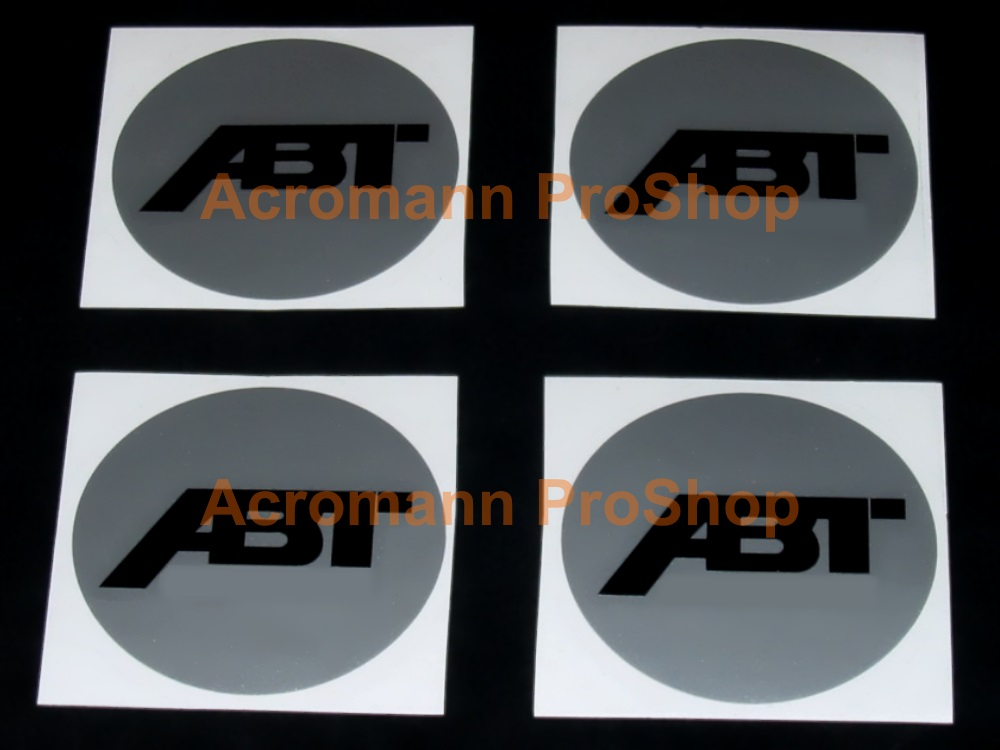 ABT 2.2inch Wheel Cap Decal (Style#2) x 4 pcs