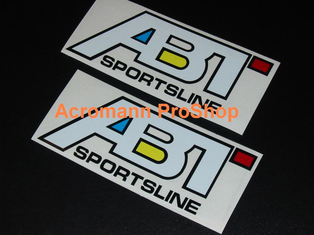 ABT Sportsline 6inch Decal (Style#1) x 2 pcs