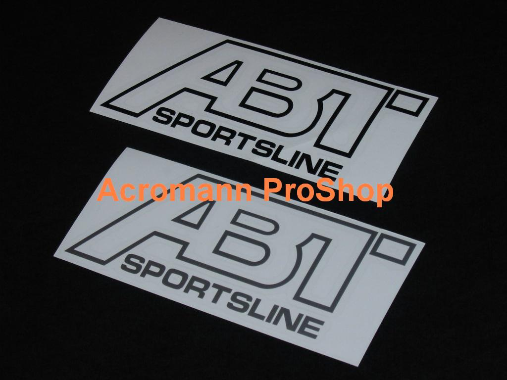 ABT Sportsline 6inch Decal (Style#2) x 2 pcs