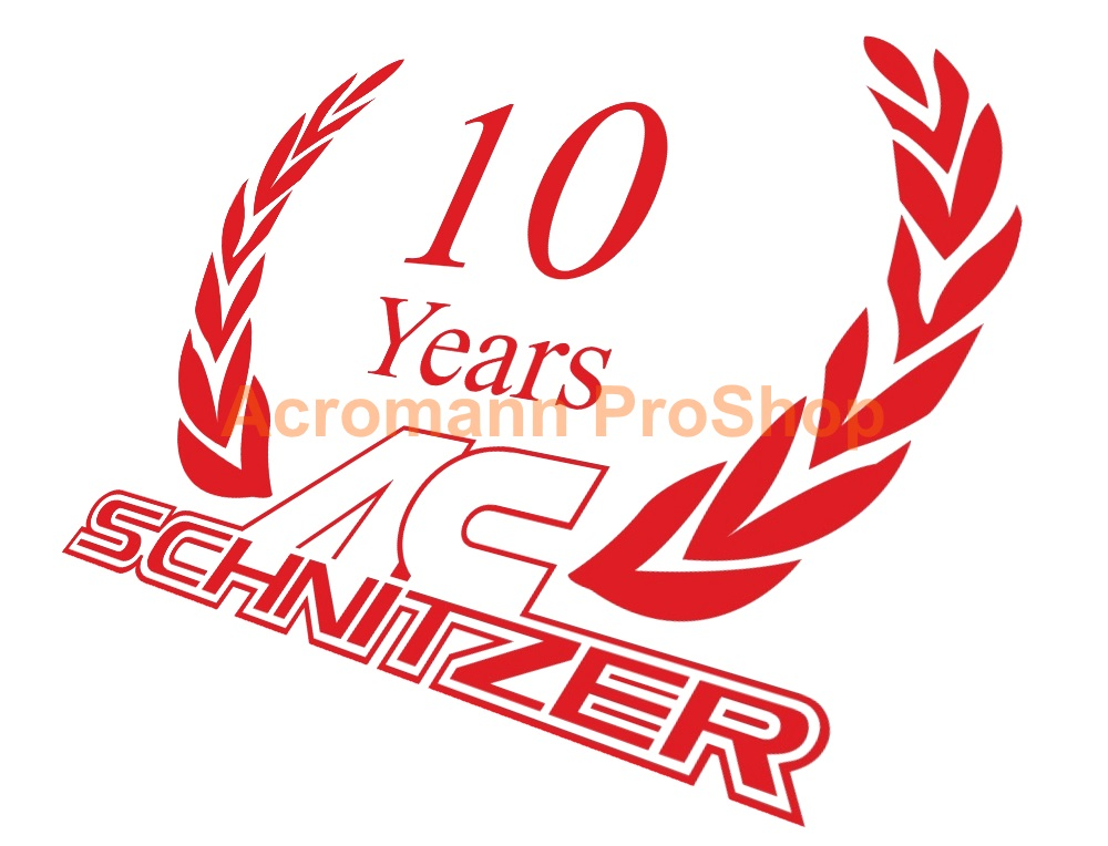 AC Schnitzer 4inch Laurel Decal (Style#3) x 2 pcs