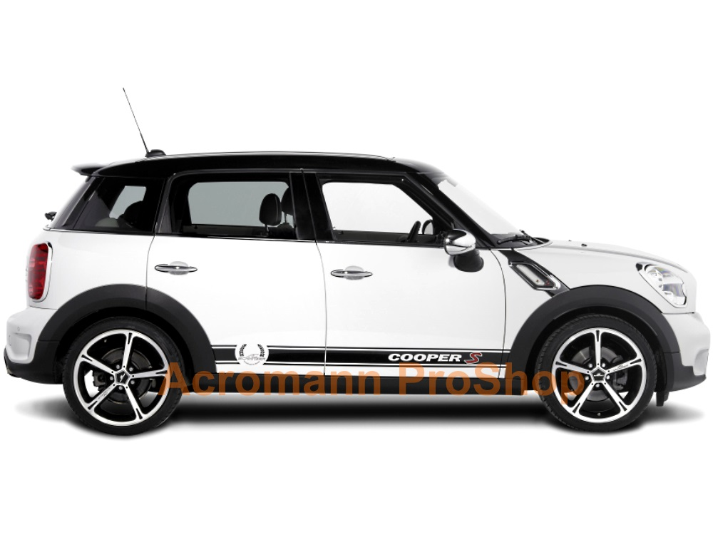 AC Schnitzer Mini Cooper S Side Stripe Decal (Style#5) x 1 pair