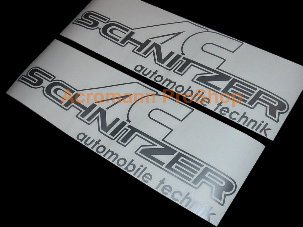 AC Schnitzer Side Door 20inch Decal x 1 pair