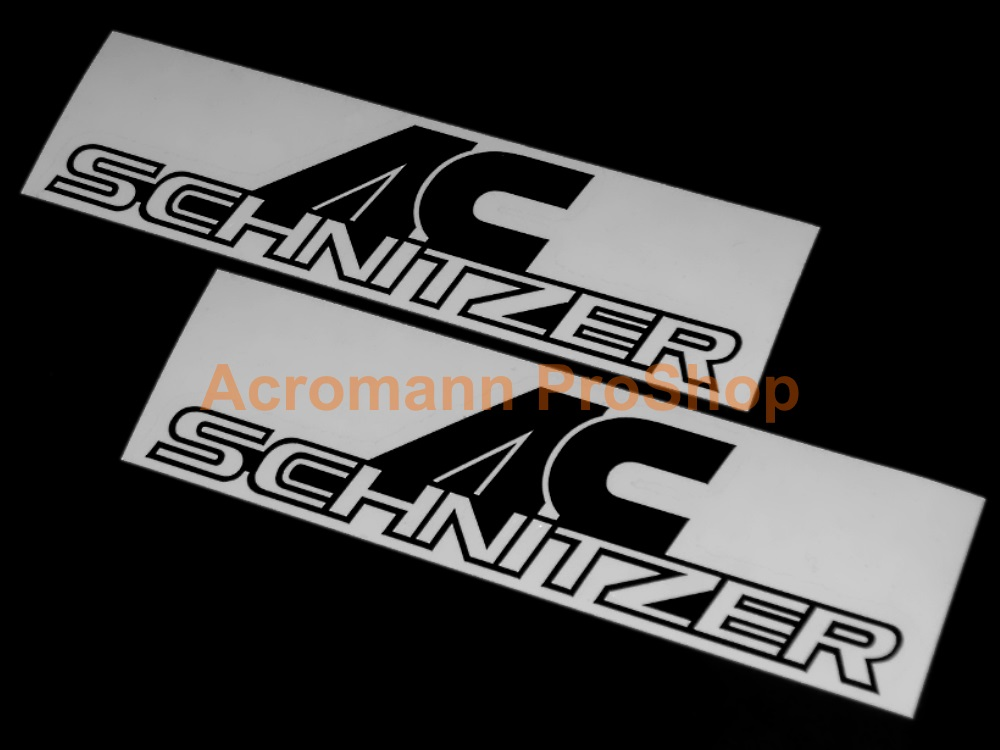 AC Schnitzer 6inch Decal (Style#5) x 2 pcs