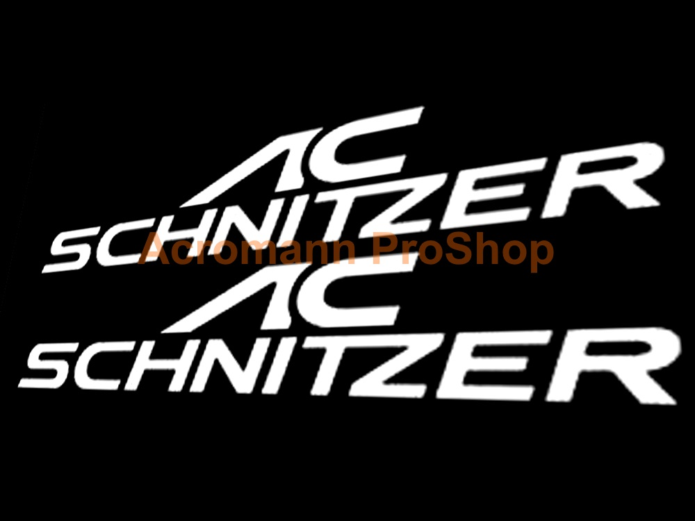 AC Schnitzer 6inch Decal (Style#3) x 2 pcs