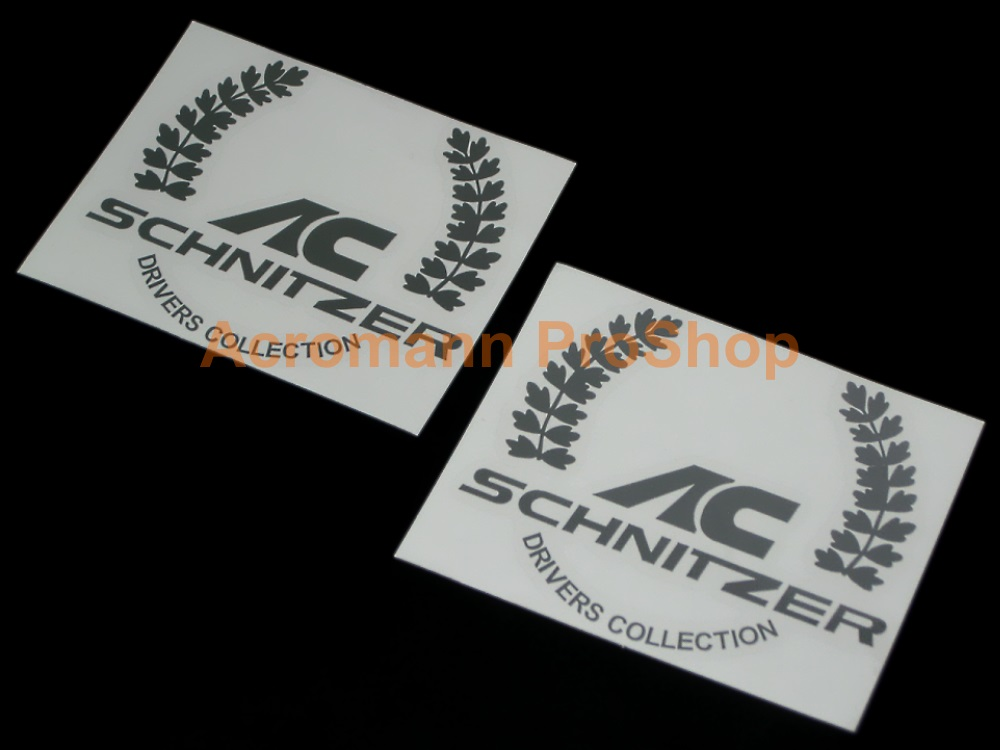AC Schnitzer 4inch Laurel Decal (Style#2) x 2 pcs
