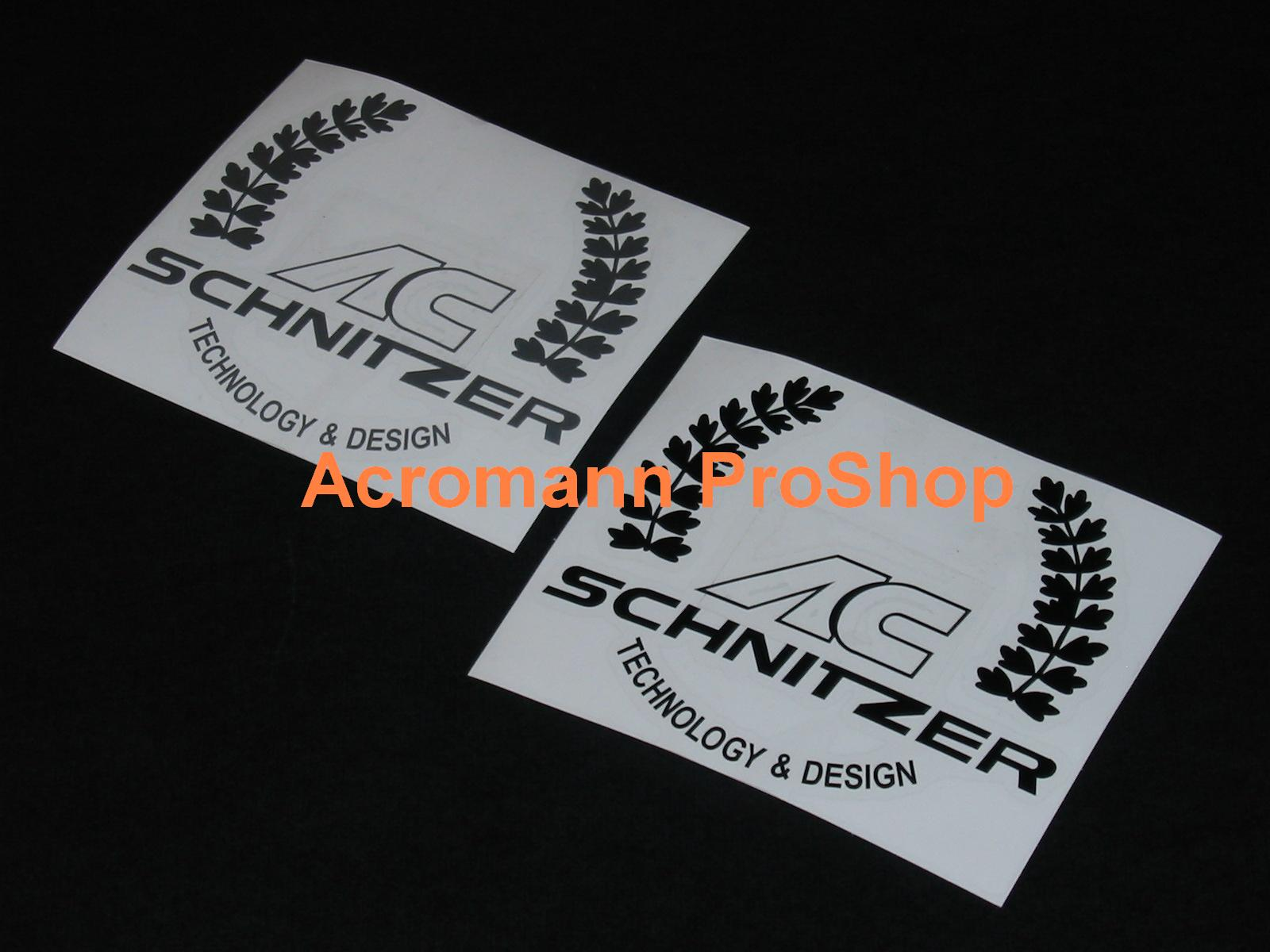 AC Schnitzer 4inch Laurel Decal (Style#1) x 2 pcs