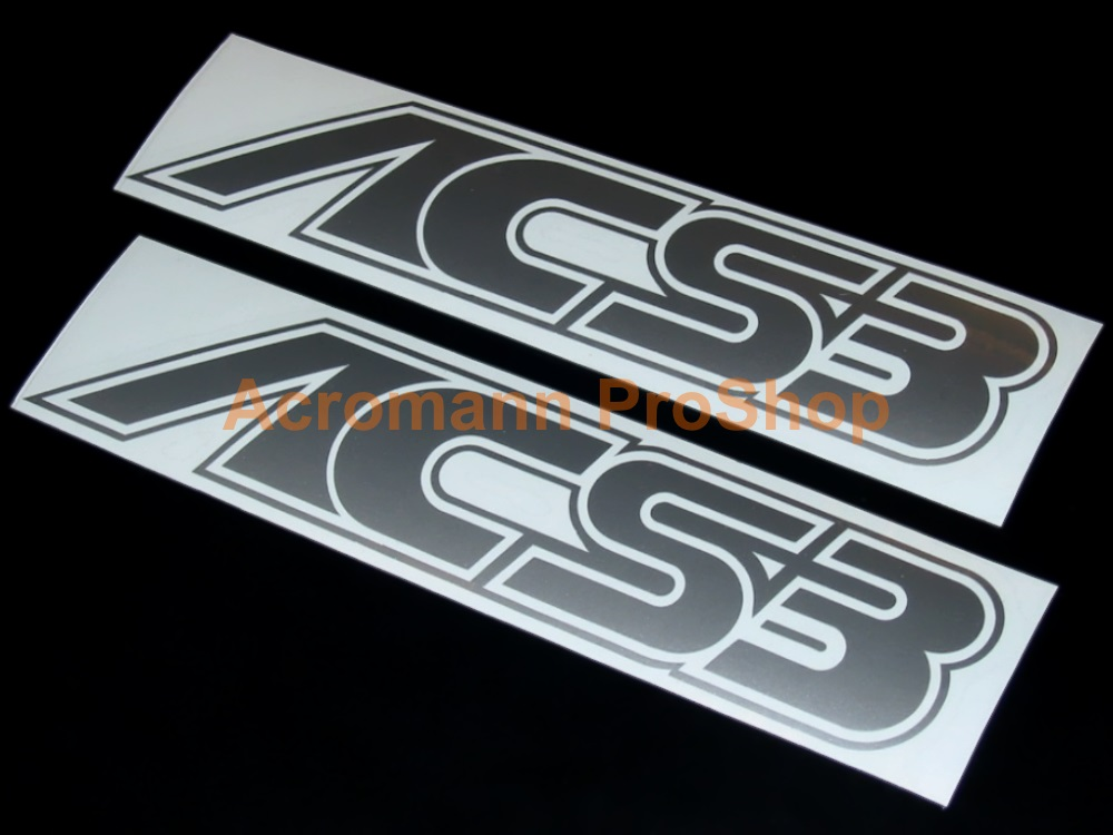 AC Schnitzer ACS3 4inch Decal (Style#1) x 2 pcs
