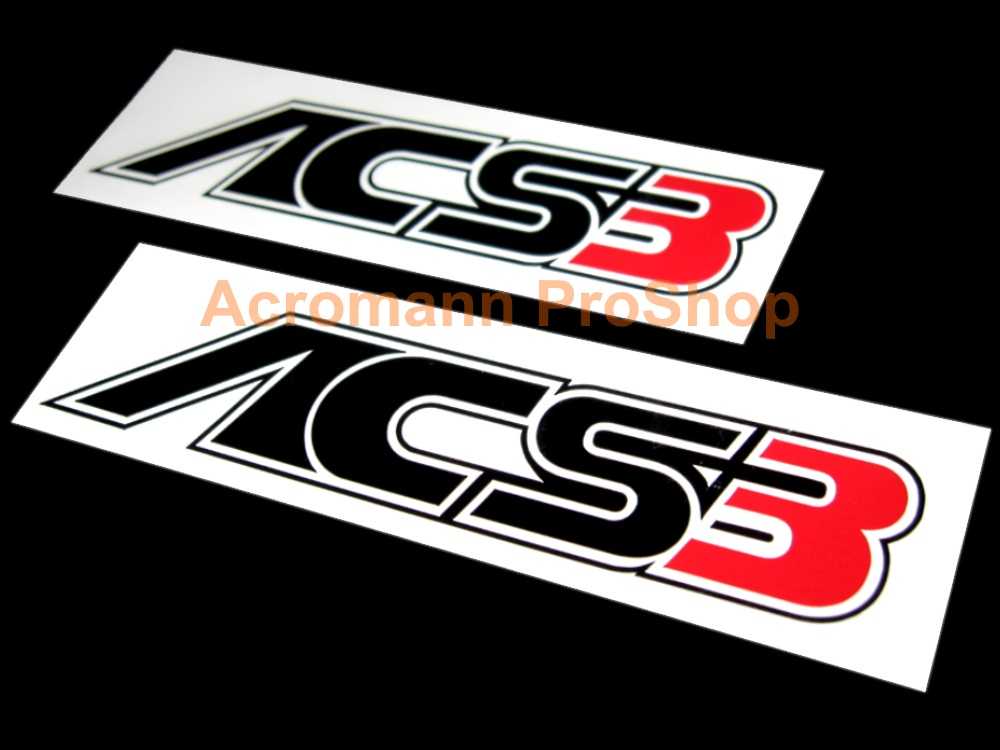 AC Schnitzer ACS3 4inch Decal (Style#2) x 2 pcs