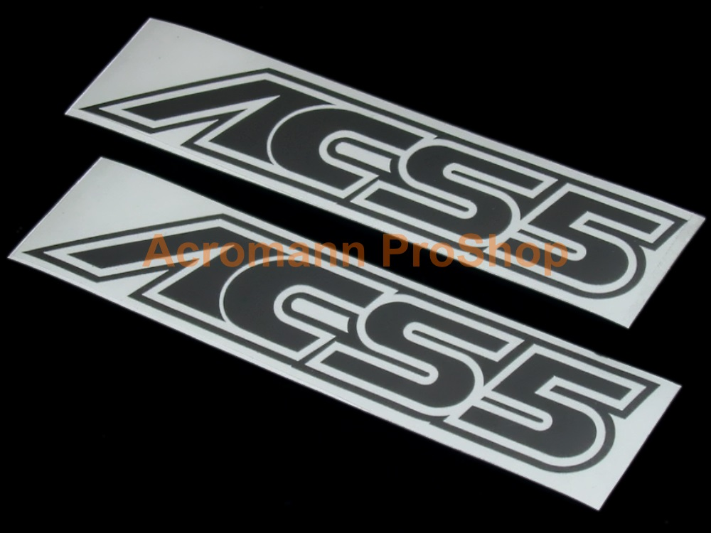 AC Schnitzer ACS5 4inch Decal (Style#1) x 2 pcs