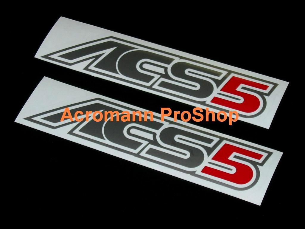 AC Schnitzer ACS5 4inch Decal (Style#2) x 2 pcs
