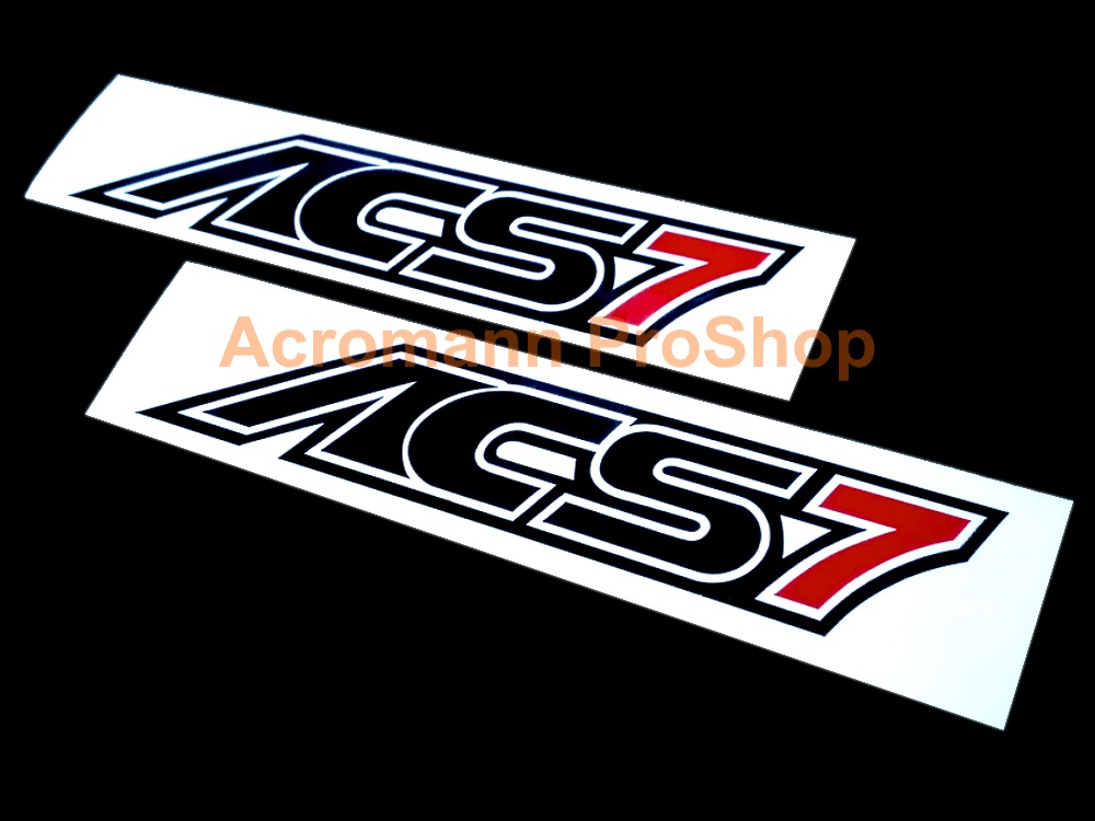 AC Schnitzer ACS7 4inch Decal (Style#2) x 2 pcs