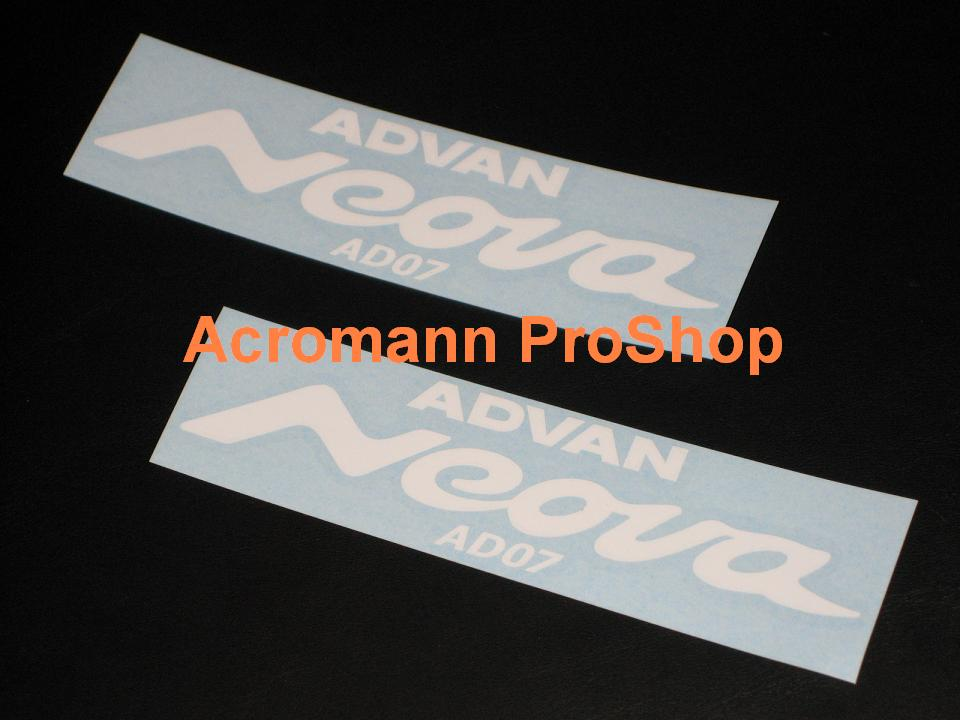 ADVAN Neova 6inch decal (Style#2) x 2 pcs