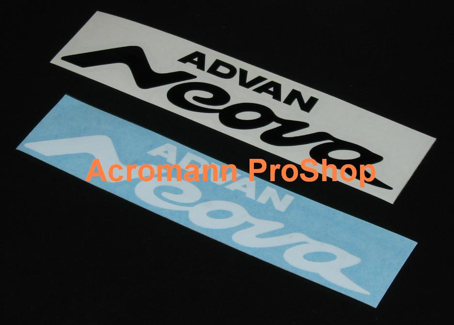 ADVAN Neova 6inch decal (Style#1) x 2 pcs