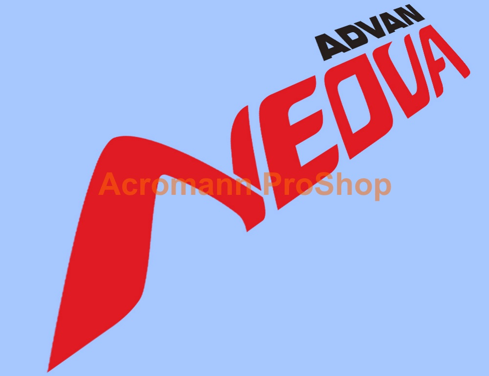 ADVAN Neova 6inch decal (Style#3) x 2 pcs