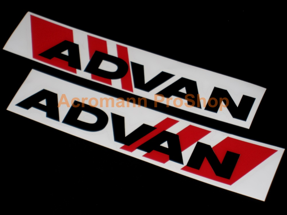 ADVAN 6inch Decal (Style#7) x 1 pair