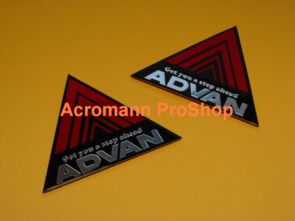 ADVAN Triangle Emblem