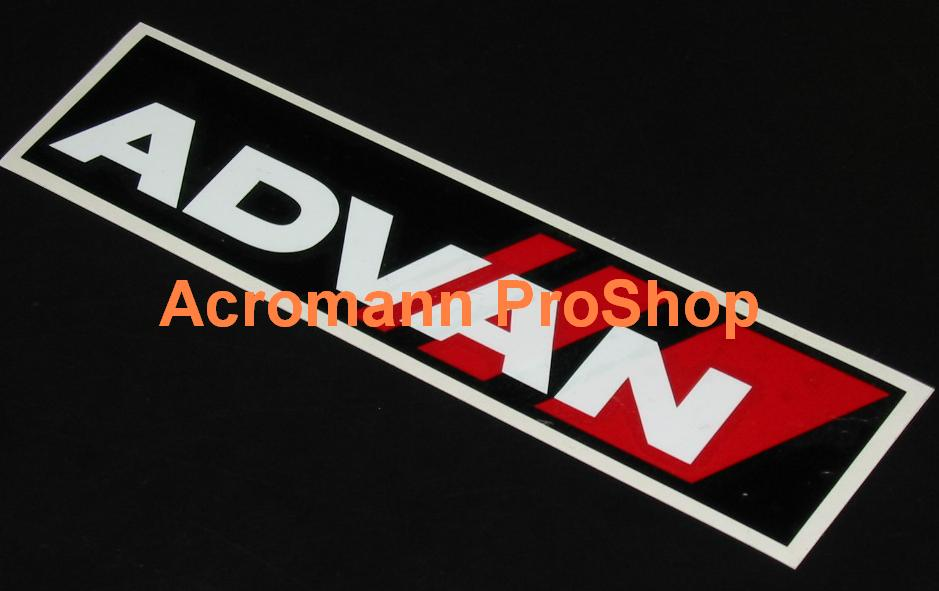 ADVAN 6inch Decal (Style#3) x 2 pcs